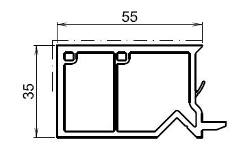 Tap e d 39 isolation pour fenetre blanche 55mm - Tapee fenetre pvc ...