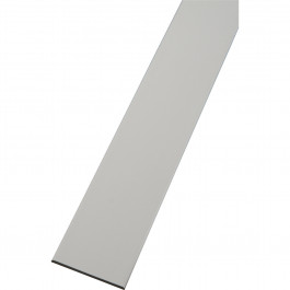 plat pvc blanc longueur de 6 m tres profil pvc. Black Bedroom Furniture Sets. Home Design Ideas