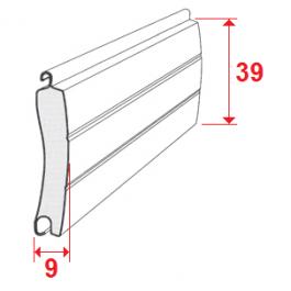 Lame Aluminium isolée