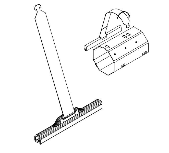 attache lame de volet roulant 14 mm. Black Bedroom Furniture Sets. Home Design Ideas