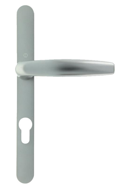 ensemble poign e de porte atlanta troit couleur inox. Black Bedroom Furniture Sets. Home Design Ideas