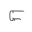 Obturateur pour plaque 16 mm (U16)