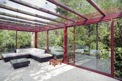 verandas aluminium - photo Richerd Sprang